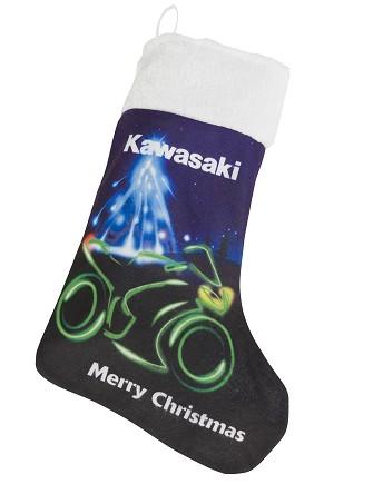 Kawasaki karácsonyi ajándék zsák