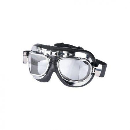 Krómozott klasszikus szemüveg