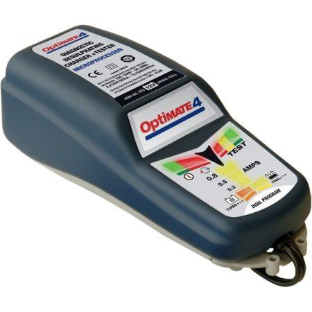 Optimate4 dual program akkumlator töltő