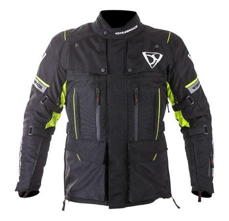Textil Kabát NJ-MNR-1840 Fekete-Fluo sárga XXL