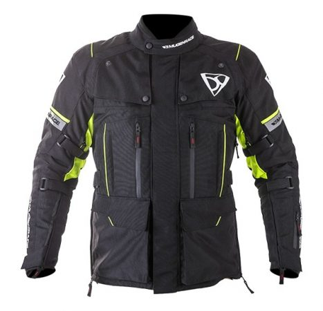 Textil Kabát NJ-MNR-1840 Fekete-Fluo sárga L