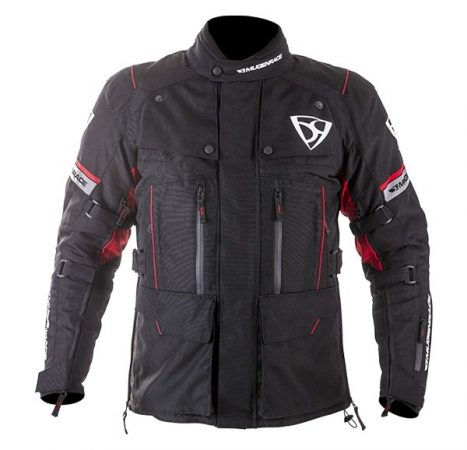 Textil Kabát NJ-MNR-1840 Fekete-Piros XXL