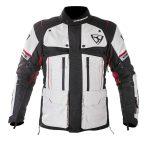 Textil Kabát NJ-MNR-1840 Szürke-Fekete-Piros XS