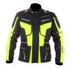 Textil Kabát NJ-MNR-1842 Fekete-Fluo sárga XS