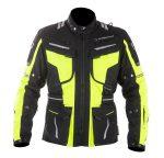 MUGENRACE Textil Kabát NJ-MNR-1842 Fekete-Fluo sárga