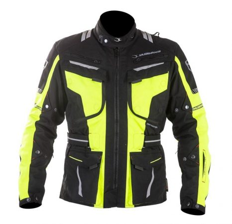 Textil Kabát NJ-MNR-1842 Fekete-Fluo sárga M