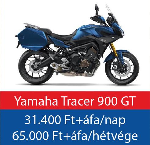 motorbérlés Yamaha Tracer 900 GT